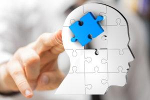 Gehirn Puzzle klinische PNI