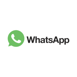 whatsapp icon schrift
